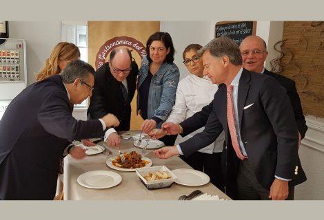 Prueba de receta oficial elaborada por la Cátedra de Gastronomía de la Universidad de Córdoba en colaboración con Acoreco y cocinada por el restaurante La taberna de Almodóvar en Córdoba